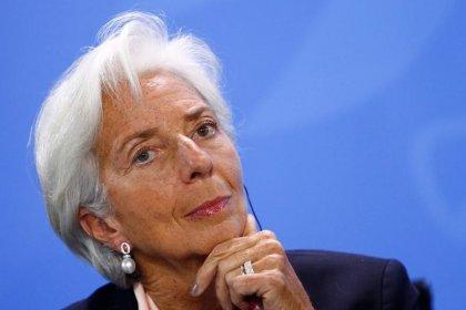 Le FMI va réviser à la baisse ses prévisions pour la zone euro, dit Lagarde