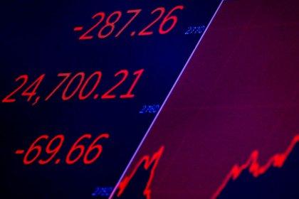 Dow закрыл в минусе 8-ю сессию подряд из-за беспокойства о торговле