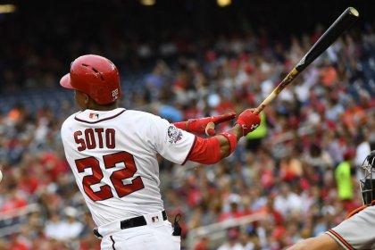 Major League Baseball roundup: Soto powers Nats past O's