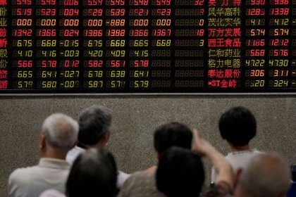 Рынок акций Китая пережил худшую неделю почти за 5 месяцев, Гонконга - за 3 месяца
