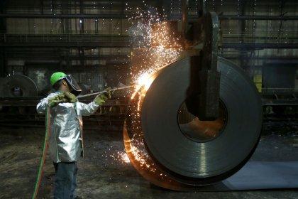 Britain backs EU duties on U.S. goods: May's spokeswoman