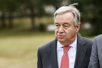 U.N.'s Guterres demands immediate end to military escalation in southwestern Syria