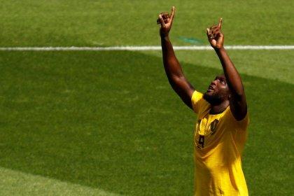 Lukaku e Hazard marcam dois cada em goleada da Bélgica por 5 x 2 na Tunísia