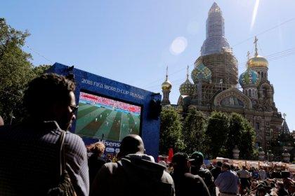 Torcedores devem evitar Fan Fest nos jogos da Rússia na Copa, dizem autoridades