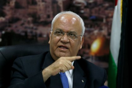 Trump adviser Kushner criticizes Abbas, says U.S. peace plan near