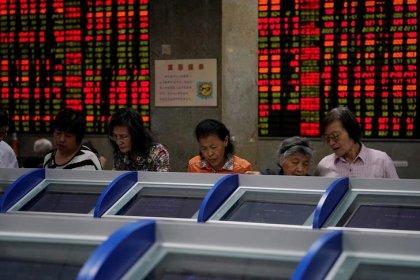 Акции Китая, Гонконга снизились из-за страхов о торговле