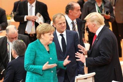 Trump bezeichnet EU als Feind - Tusk widerspricht umgehend