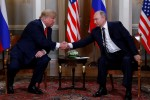 Trump sits down with Putin after denouncing past U.S. policy on Russia