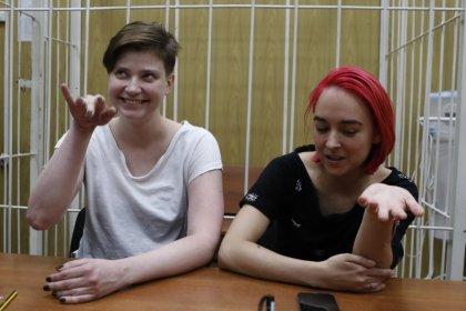 Участники Pussy Riot получили по 15 суток ареста после забега в финале чемпионата мира
