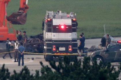 مقتل 5 وإصابة آخر في تحطم طائرة عسكرية بكوريا الجنوبية