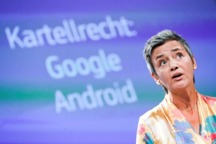 Google, hit with record $5 billion EU antitrust fine, to appeal