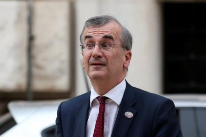 Inflation less sensitive than growth to risks - ECB's Villeroy