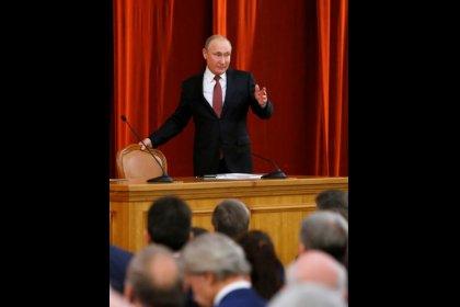 Putin dice que hay fuerzas en EEUU que intentan arruinar el éxito de la cumbre con Trump