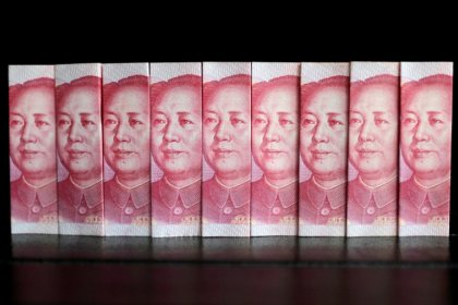 China markets gyrate as yuan hits one-year lows