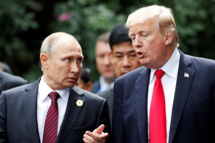 Sanctions law behind Putin's request to Trump for former U.S. officials