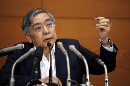 BOJ's Kuroda urges restraint on tariffs, says stable FX desirable