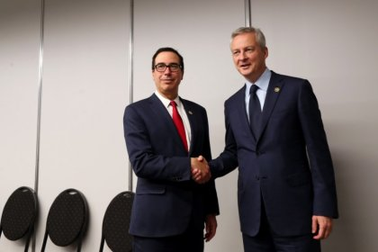 France's Le Maire says no U.S. trade talks with metals tariffs in place