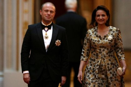 Maltese PM's wife cleared in inquiry over offshore shell company