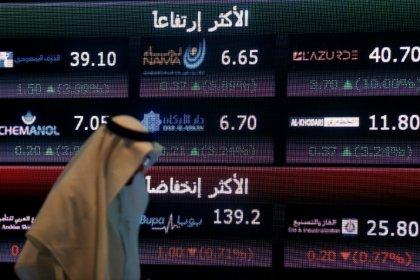 تراجع بورصتي السعودية ودبي تحت ضغط من أسهم البنوك، وقطر تواصل التعافي