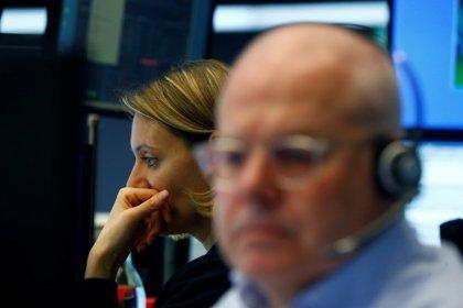 European stocks hit three-week low as Turkey stress dents lenders