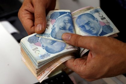 Turkish lira edges up from record low on central bank pledge, investor call