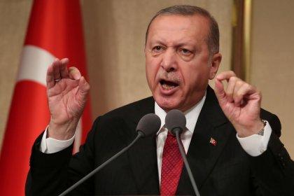 Erdogan diz que Turquia boicotará eletrônicos dos EUA; lira se estabiliza