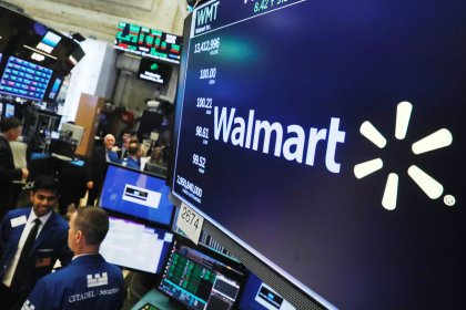Wall Street gains on Walmart and Cisco earnings, trade optimism