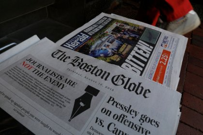 Newspapers across U.S. rebuke Trump for attacks on press