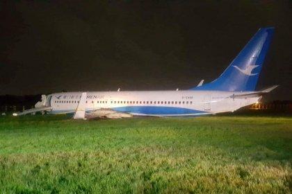 Un avión de Xiamen Air se sale de la pista en Manila sin causar heridos