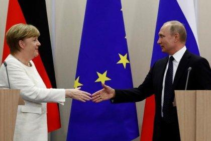 Меркель сказала, что не ждет конкретных результатов от встречи с Путиным