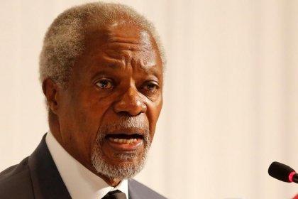 Muere Kofi Annan, ex secretario general de la ONU y Nobel de la Paz, a los 80 años