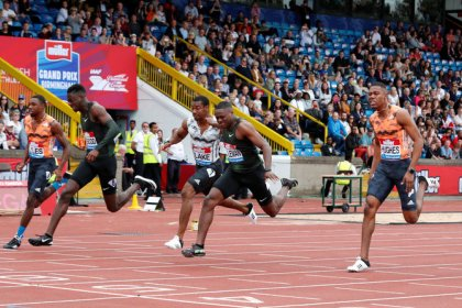 Athletics: Coleman edges Prescod by a thousandth in 100m