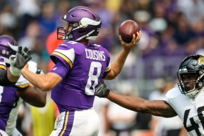 NFL roundup: Cousins struggles in Vikings' loss to Jaguars
