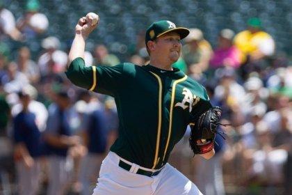 MLB roundup: A's tie Astros atop AL West