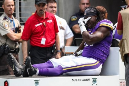 Six Vikings injured in preseason loss