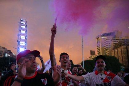Incidentes en Buenos Aires durante la celebración de los hinchas de River