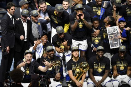 Warriors named SI Sportsperson of the Year