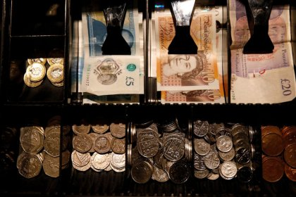 Trade hopes support China, sterling totters on Brexit turmoil