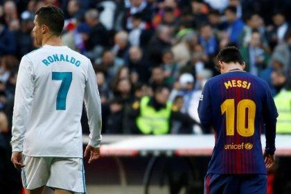Cristiano Ronaldo diz querer ressuscitar rivalidade com Messi na Itália