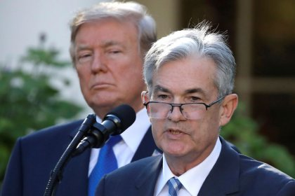Exclusive: Trump says Fed shouldn't hike rates, but calls Powell 'a good man'