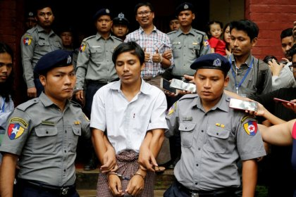 Number of journalists jailed for doing job near record high - report