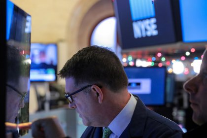 Wall Street edges lower as trade-fueled rally loses steam