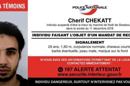 Main suspect in Strasbourg attack has been killed - police sources