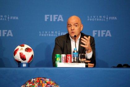 Infantino dice que cuenta con apoyos para un Mundial de Qatar con 48 selecciones