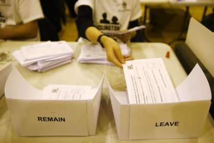 Britain's EU referendum cost almost 130 million pounds to organise