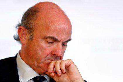 BCE precisa manter as opções em aberto diante da incerteza, diz Guindos