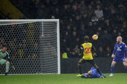 Watford hang on to clinch nervy win over Cardiff