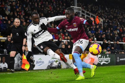 West Ham beat Fulham 2-0 to post fourth win in a row