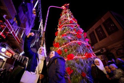Damasco se prepara para una Navidad sin fuego de mortero