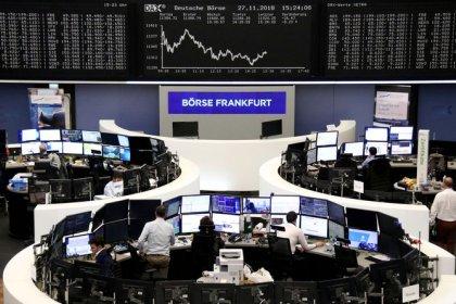 Retail stress roils European stocks